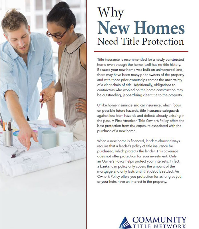 why new homes