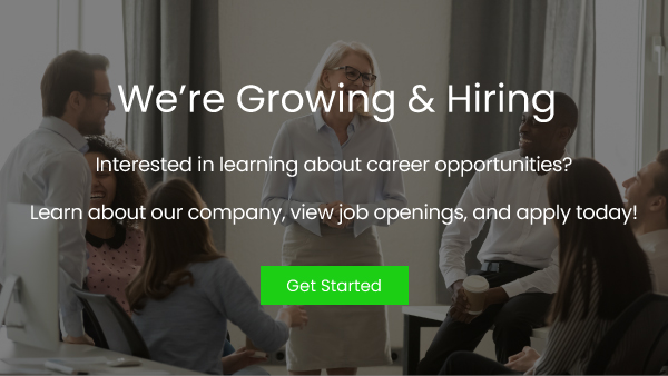 we are growing and hiring
